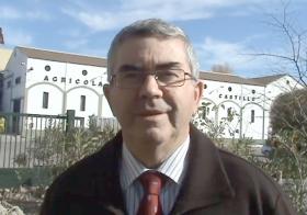 """Francisco Serrano, presidente de Almazaras de la Subbética: """"Los fondos europeos que canaliza GDR Subbética ayudan a minimizar diferencias entre regiones""""."""