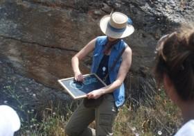 Conociendo el Geoparque… hoy visitamos el Paleokarst de los Pelaos