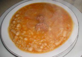Hoy cocinamos «Potaje de habichuelas con arroz», desde Palenciana