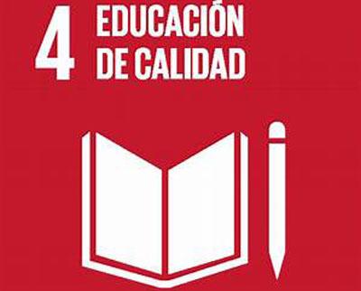 ODS 4.- EDUCACIÓN DE CALIDAD.