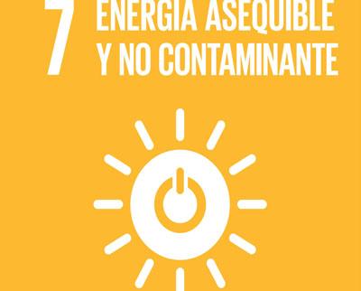 ODS 7.- ENERGÍA ASEQUIBLE Y NO CONTAMINANTE.